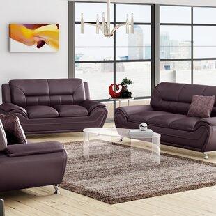 Gatto Standard Living Room Set by Orren Ellis