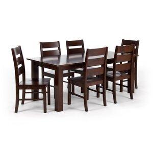 Essgruppe mit 6 Stühlen von Massivum