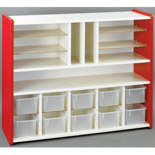 Affordable 1000 Series 19 Compartment Cubby with Tray ByTotMate