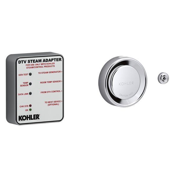 DTV+™ Steam Adapter Kit by Kohler