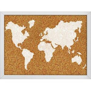 The World Wall Mounted Bulletin Board