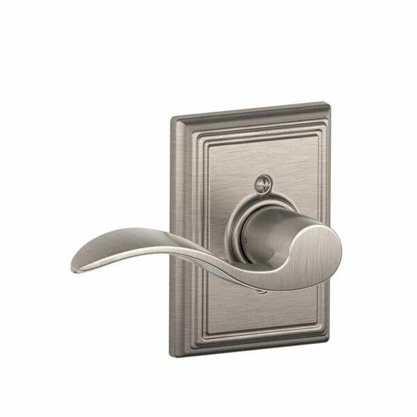 Interior Handleset Accent Lever and Interior Single Cylinder Deadbolt Thumbturn by Schlage