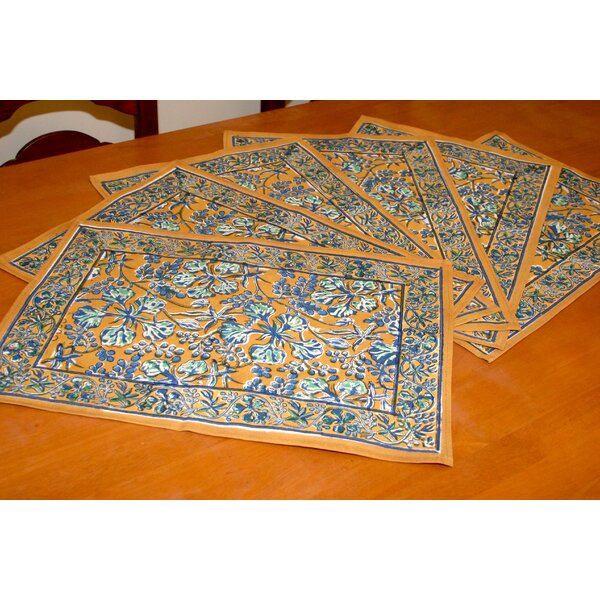 Coral Reef Placemat (Set of 6) by HOMESTEAD J.E.GARMIRIAN AND SON INC