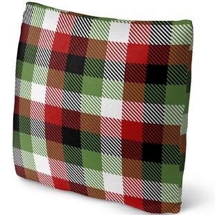Christmas Plaid Throw Pillow  sc 1 st  Wayfair & Christmas Plaid Dinnerware | Wayfair