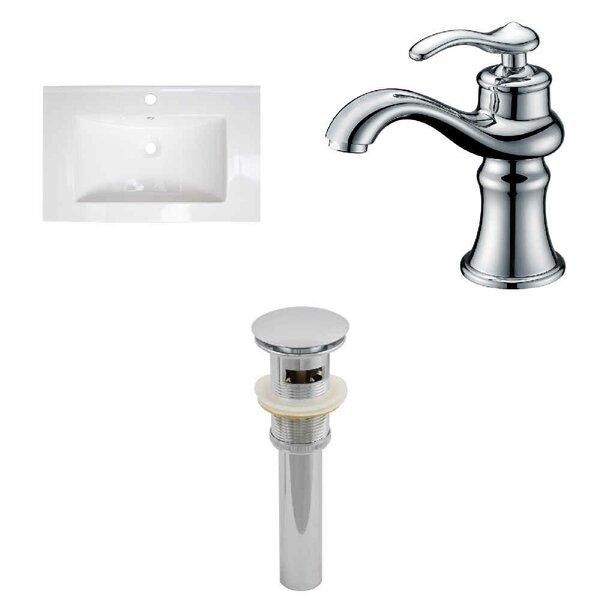 30 Single Bathroom Vanity Top and Overflow Drain by Royal Purple Bath Kitchen