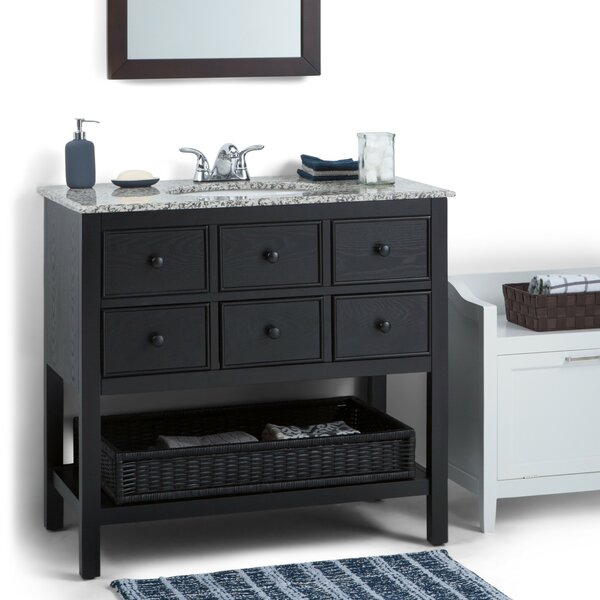 Burnaby 36 Single Bathroom Vanity Set by Simpli HomeBurnaby 36 Single Bathroom Vanity Set by Simpli Home