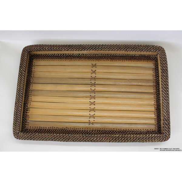 Rectangle Bamboo Serving Tray by Desti Design