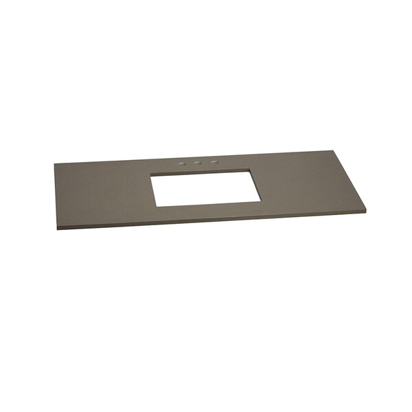 48 Vanity Top for Single Undermount Sink by Ronbow