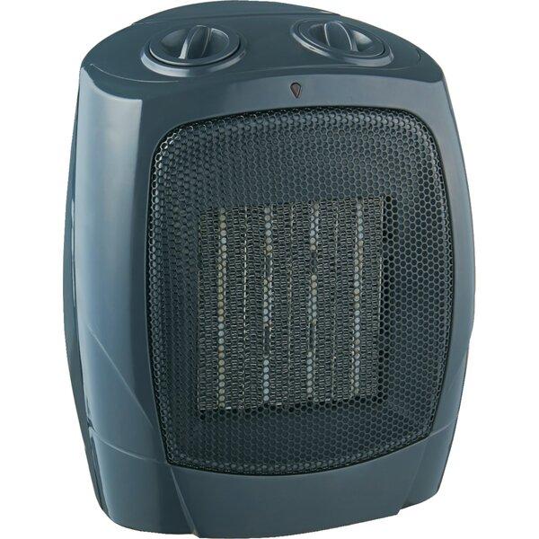 Ceramic 1,500 Watt Electric Fan Compact Heater by Brentwood Appliances