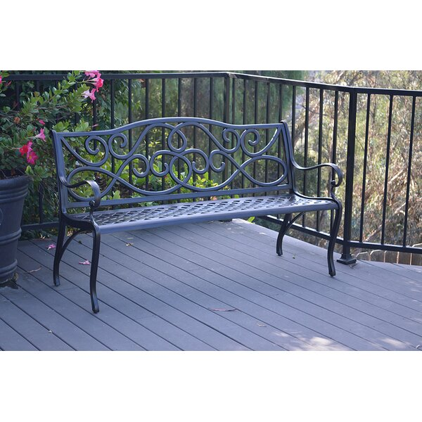 Fausley Scroll Bench by Darby Home Co