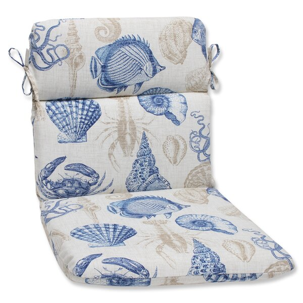 Sealife Indoor/Outdoor Lounge Chair Cushion by Pillow Perfect