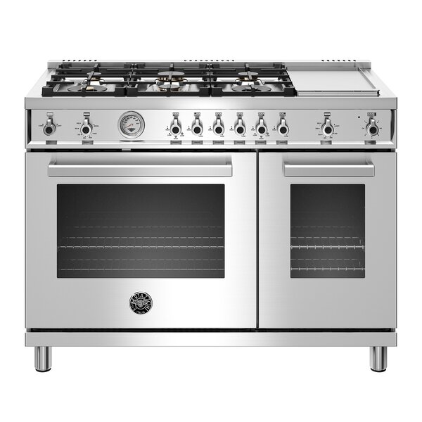 Professional Series 48 7 cu ft. Freestanding Gas Range with Griddle