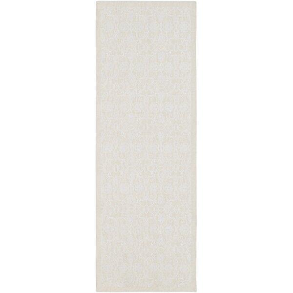 Fernisky Handwoven Cream/White Rug