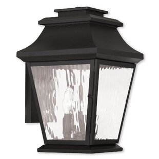Price Check Campfield 3-Light Outdoor Wall Lantern By Darby Home Co