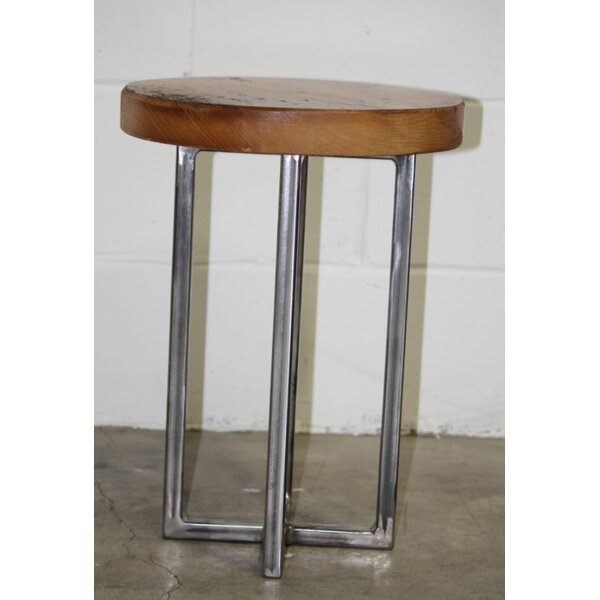Latrell Hemlock End Table by Union Rustic