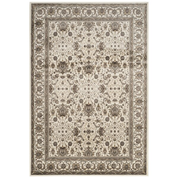 Carolus Blue/Ivory Area Rug by Darby Home Co
