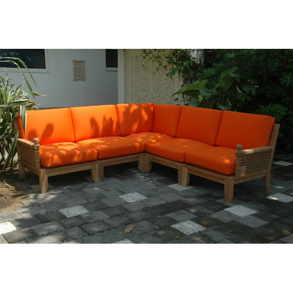 Luxe Modular Sectional by Anderson Teak