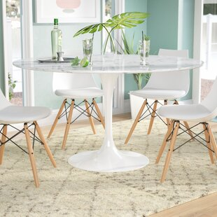 Etonnant Julien Artificial Marble Round Dining Table