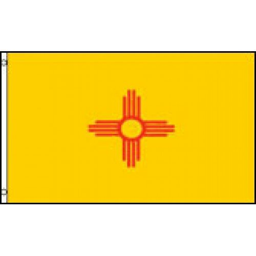 New Mexico State Traditional Flag by NeoPlex