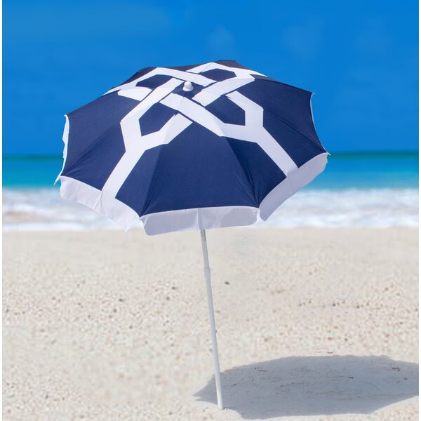 Nautical Knots Beach Umbrella by SittinPrettyLLC