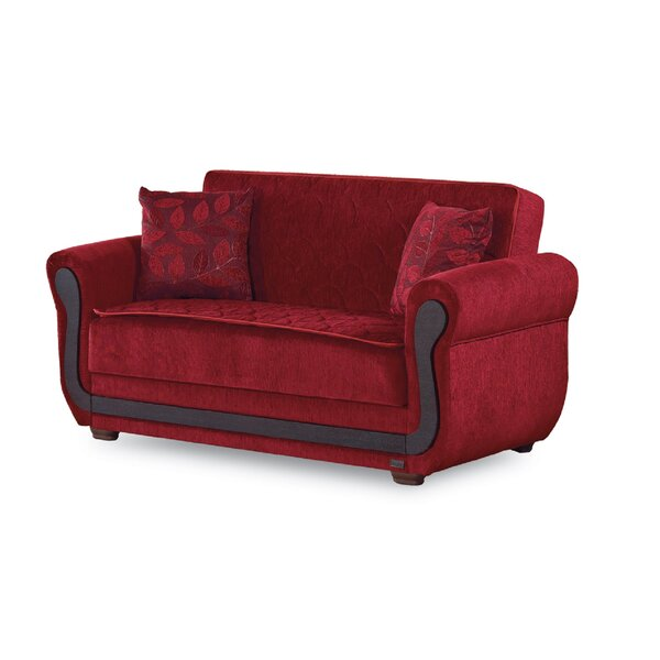 Shopping Web Grasston Convertible Loveseat by Mercer41 by Mercer41