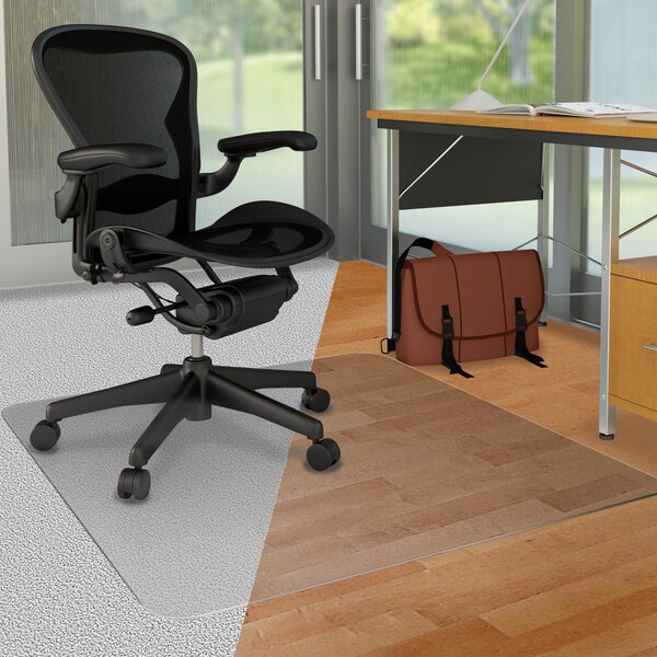 Hard Floor Straight Edge Chair Mat by Deflect-O Corporation