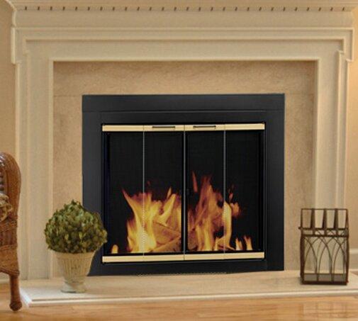 Arrington Bifold Style Steel Fireplace Doors By Pleasant Hearth