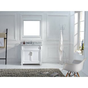 Comparison Kace 37 Single Bathroom Vanity Set with Mirror ByDarby Home Co