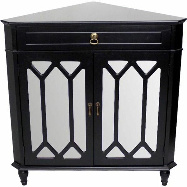 Hagans 2 Door Corner Accent Cabinet