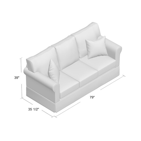 Eulah Brunswick Sleeper Sofa by August Grove