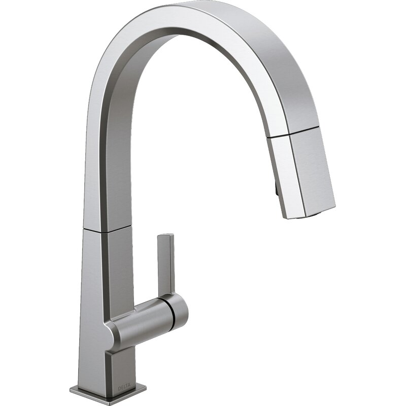 Delta Pivotal Touch Single Handle Kitchen Faucet Amp Reviews
