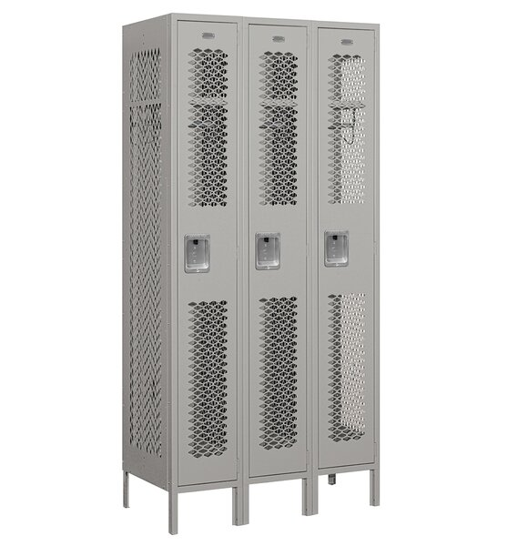 1 Tier 3 Wide Gym Locker by Salsbury Industries