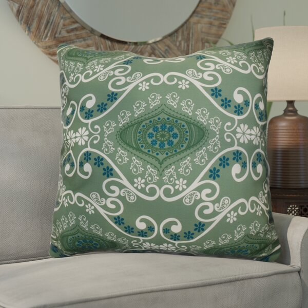Soluri Illuminate Geometric Euro Pillow by Bungalow Rose