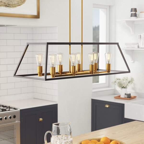 Sheredan 8-Light Kitchen Island Pendant by Brayden Studio
