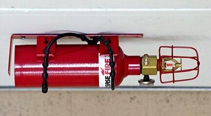 Fire Protection Extinguisher Unit Locker 52 CuFt by Justrite