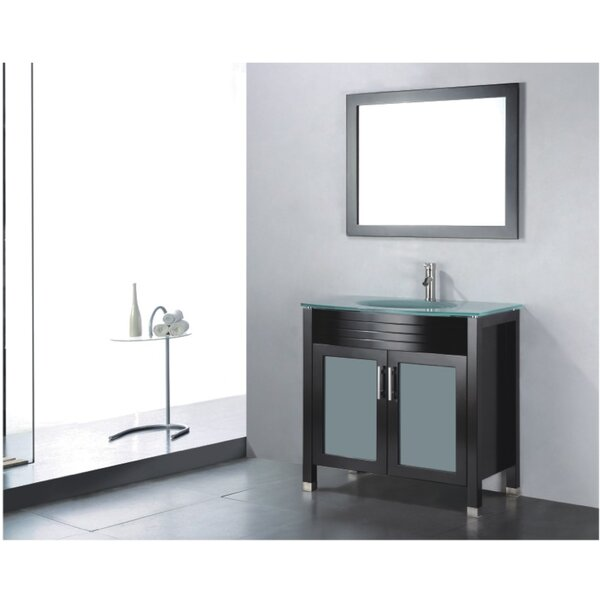 Adora 36 Single Bathroom Vanity Set with Mirror by Adornus