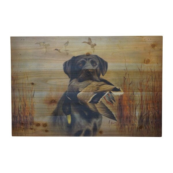 Graphic Art Print on Wood by Always Unique