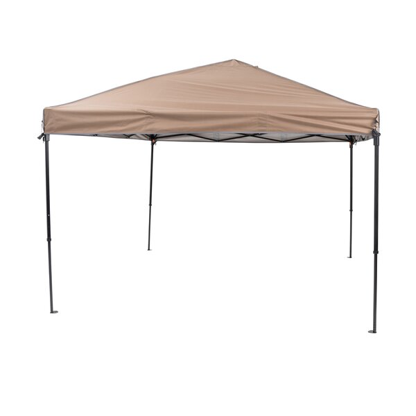 10 Ft. W x 10 Ft. D Steel Pop-Up Canopy by TrueShade™ Plus