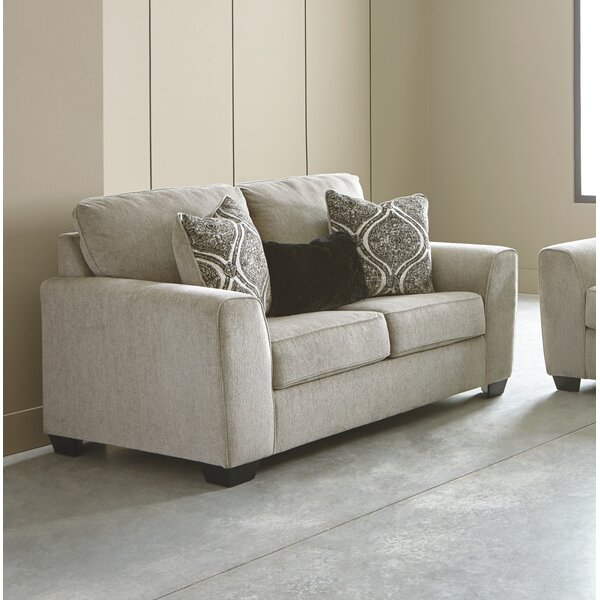 Top Design Lockhart Loveseat by Alcott Hill by Alcott Hill