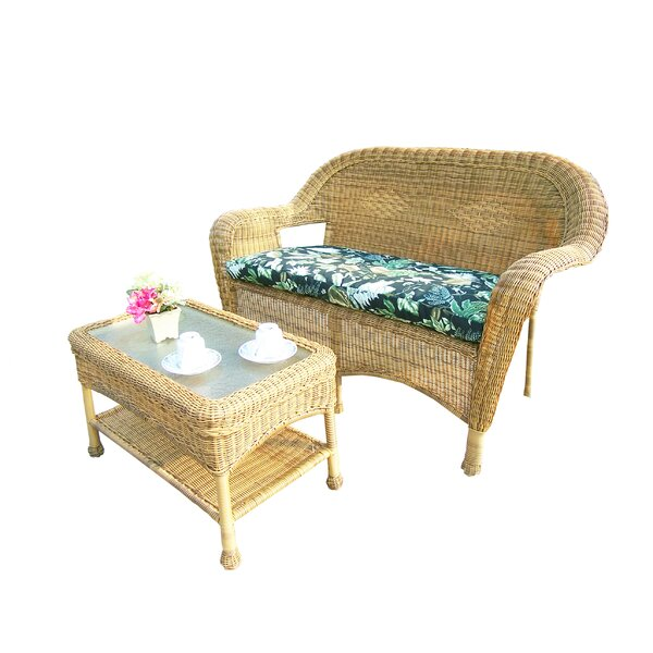 2 Piece Sofa Set with Cushions by Oakland Living