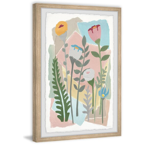 Red Barrel Studio Beyond The Wildflowers By Parvez Taj Picture Frame Painting Print On Paper Wayfair