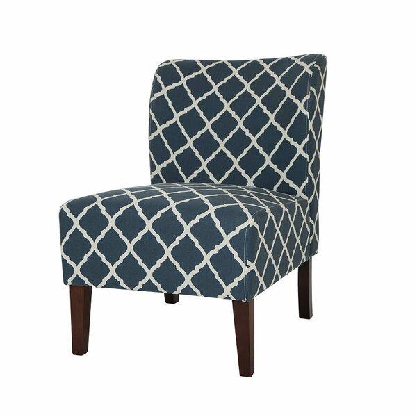 Modern Accent Chair Slipper Chair by Glitzhome