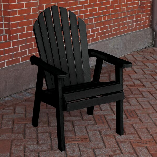 Alena Adirondack Deck Patio Dining Chair by Rosecliff Heights
