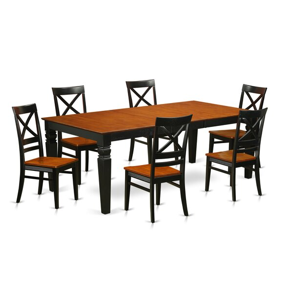 Beesley 7 Piece Rectangular Dining Set by Darby Home Co
