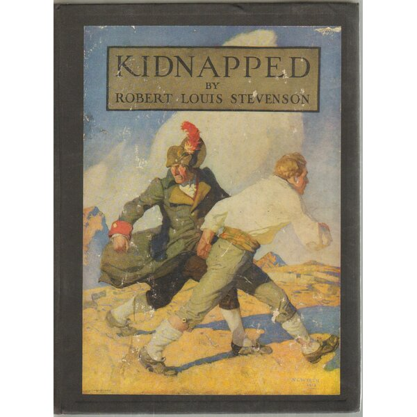 Authentic Decorative Books - Collectible Childrens 1946 Kidnapped: Memoirs of Adventures of David Balfour by Robert Louis Stevenson by Booth & Williams