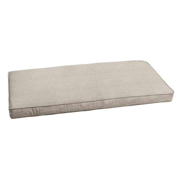 Outdoor Sunbrella Bench Cushion by Highland Dunes