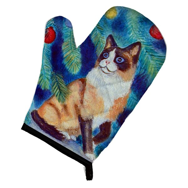 Anne Cat Oven Mitt by The Holiday Aisle