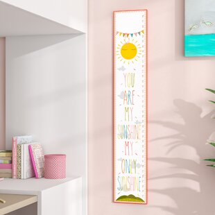 Toby You Are My Sunshine Growth Chart