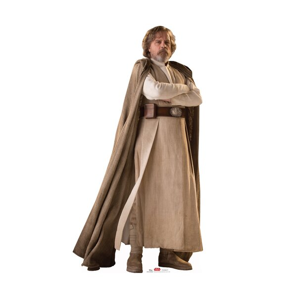 Star Wars VIII the Last Jedi Luke Skywalker™ Cardboard Cutout Standup by Advanced Graphics