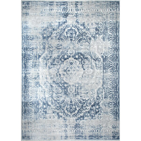Kenmare Gray/Blue Area Rug by Nicole Miller